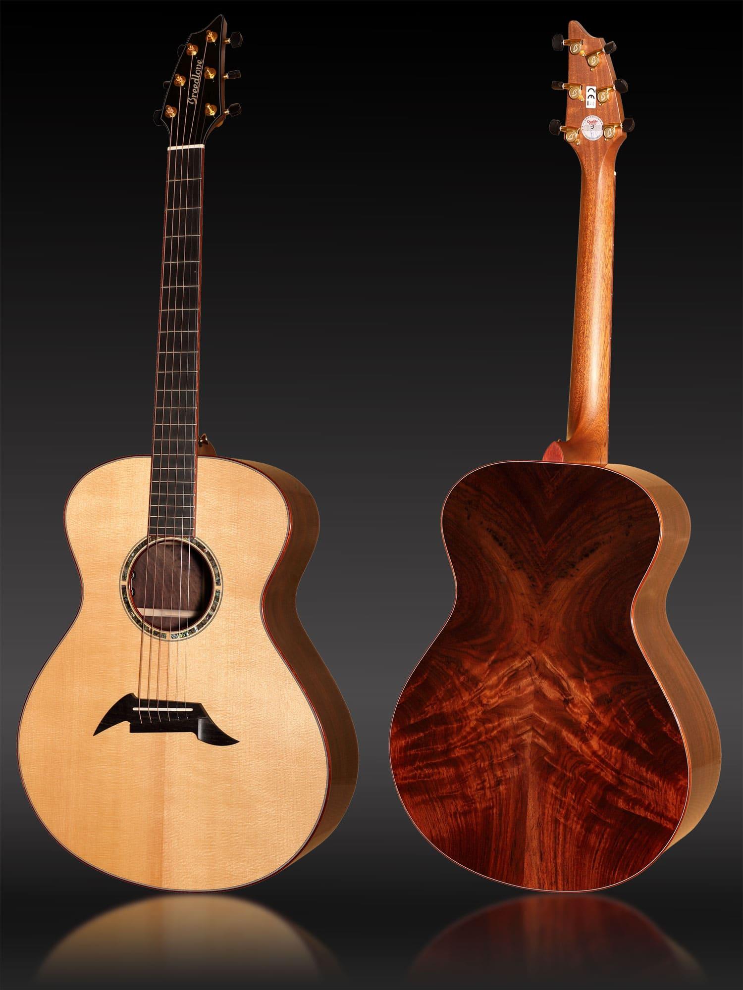 Breedlove Custom Concert Rosewood aus Sitkafichte und ostindischem Wurzelpalisander