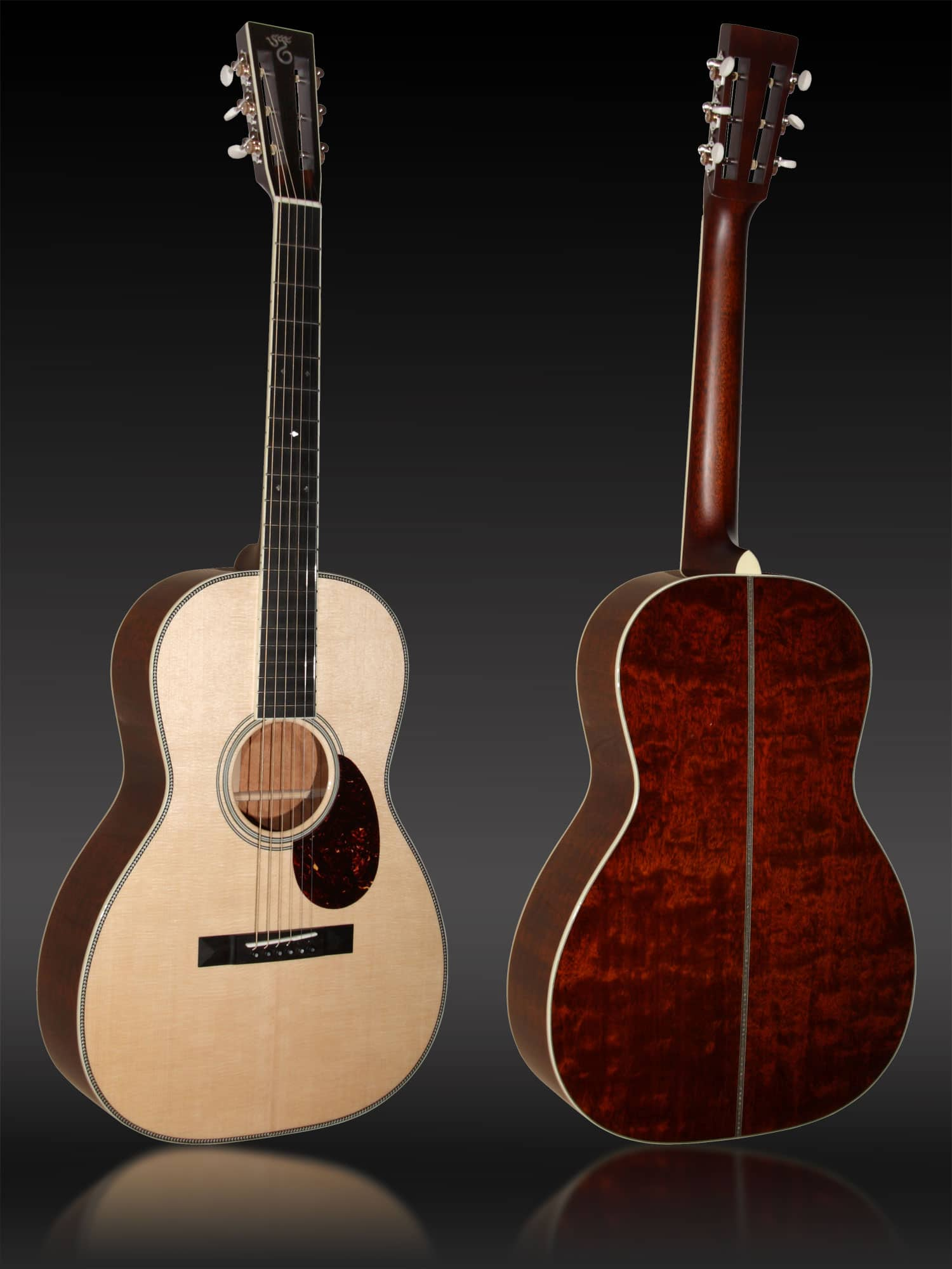 Santa Cruz 00 Custom Flamed Mahogany