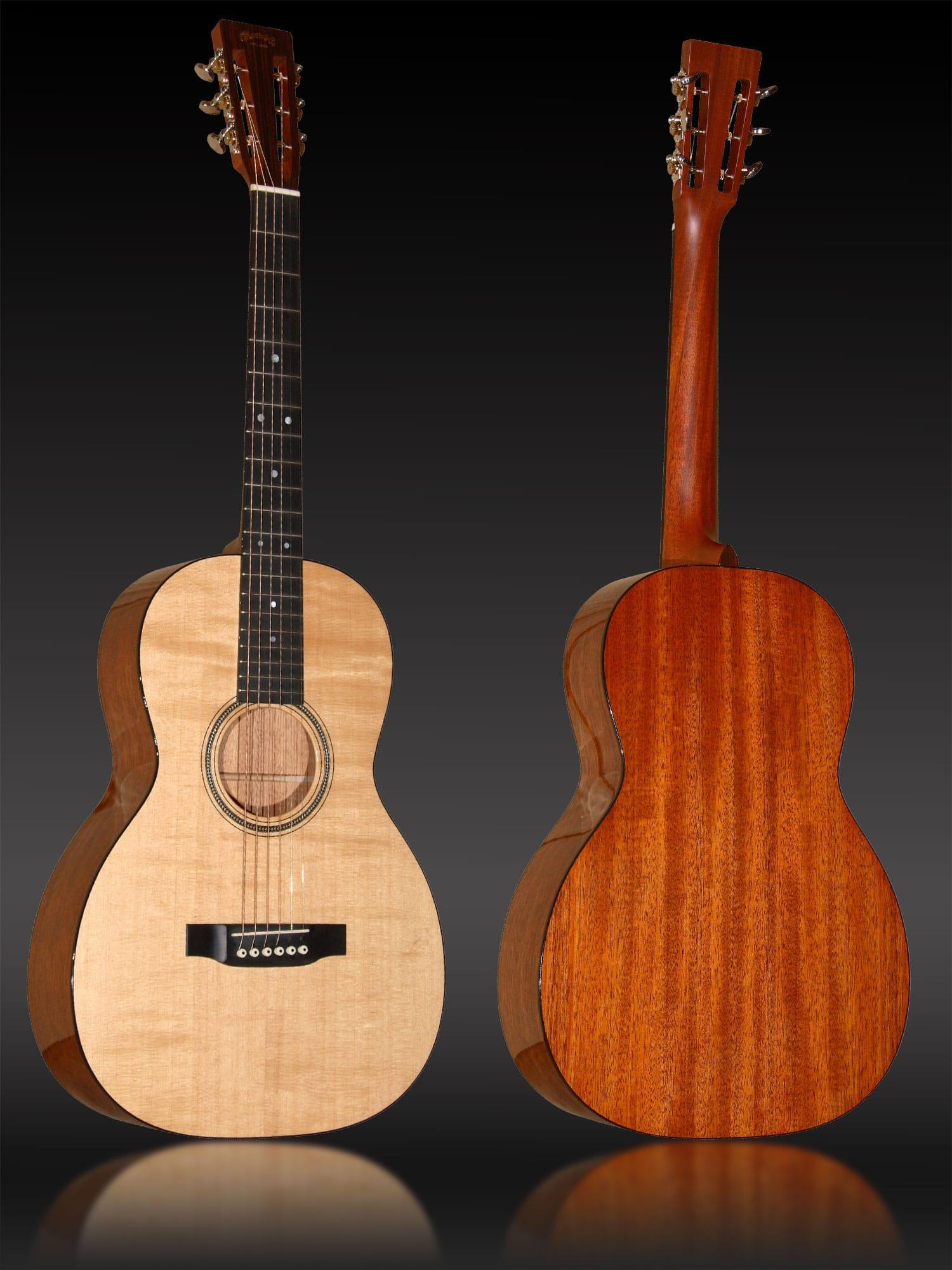 Martin 00-16SG, Martin-Gitarre in 00-Form mit massiver Fichtendecke und massivem Mahagonikorpus. Koffer inklusive.