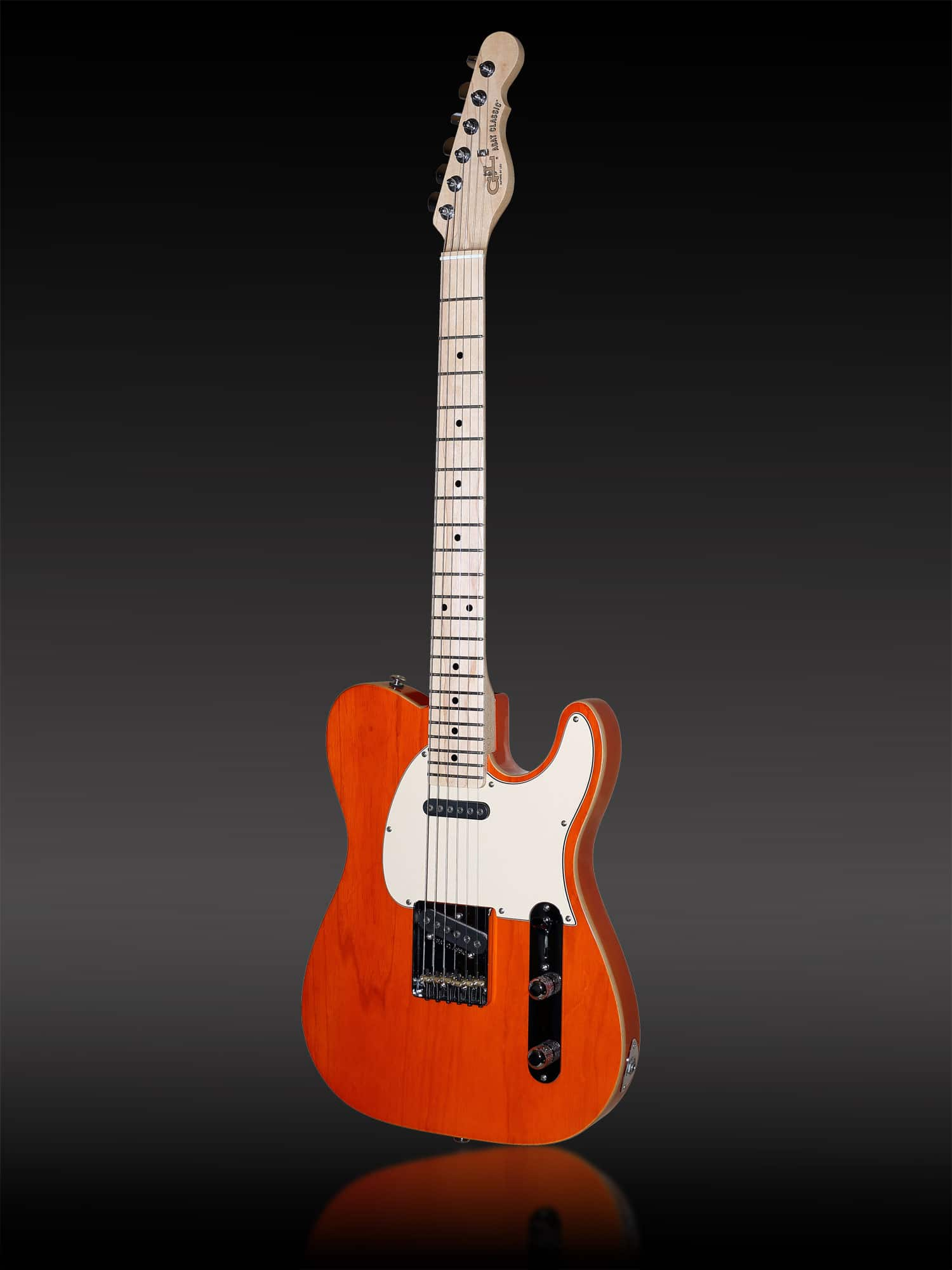 G&L USA Asat Classic Clear Orange Sumpfesche