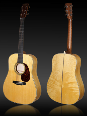 Martin Customshop D-30 Flamed Maple