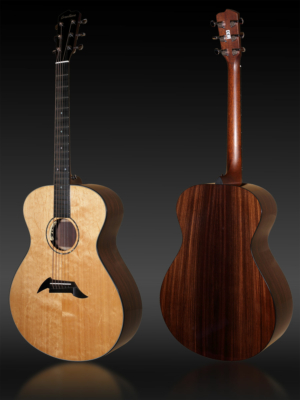Breedlove Custom Concerto Bearclaw